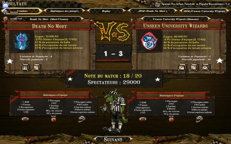 [Le Lapin Troll] Unseen University Wizards 3 - 1 Death No Mort [Elenalcar] Bloodb11