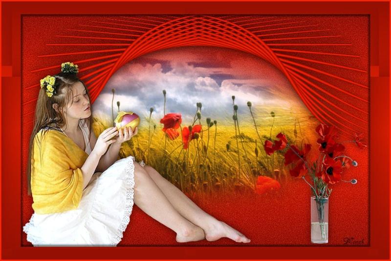 Tag Spring Flowers (PSP) Spring11