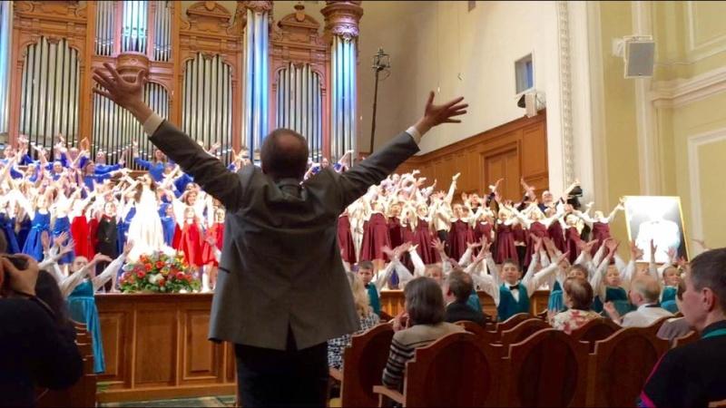 """Детская хоровая школа """"Весна"""" им. А.С. Пономарева. Гала-концерт Az110"""