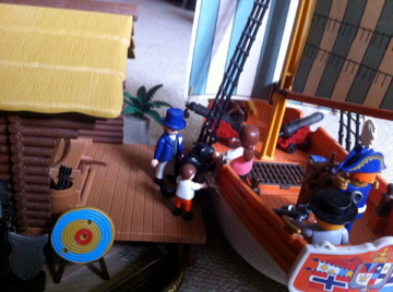 Histoire et boule de gomme... Une affaire de Playmobil.  Voyage11