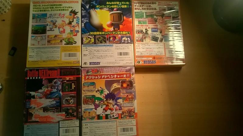vds ou éch lot nintendo jeu  64 japonais complet baisse 95in Wp_20111