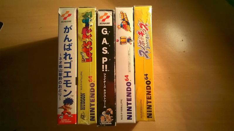 vds ou éch lot nintendo jeu  64 japonais complet baisse 95in Wp_20113