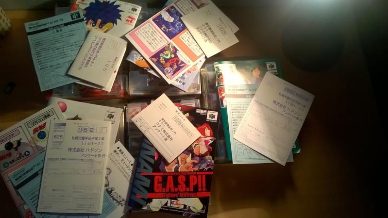 vds ou éch lot nintendo jeu  64 japonais complet baisse 95in Wp_20119