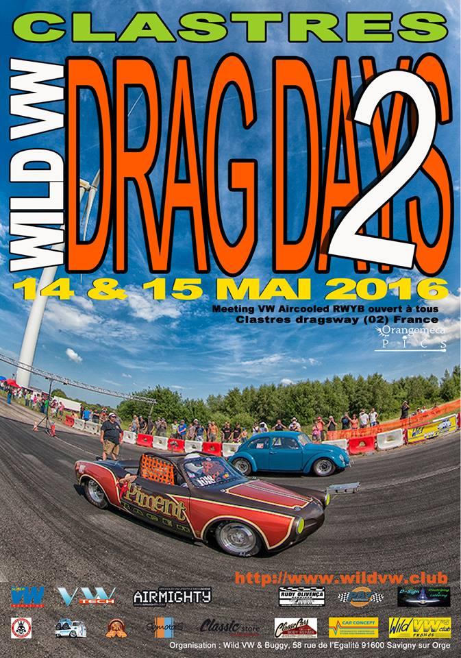 WILD VW's DRAG DAYS 14-15 Mai 2016 12806010