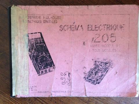 schema electrique année modele 1991 en PDF 1991_010