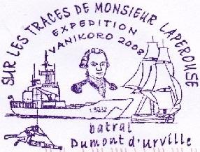 * DUMONT D'URVILLE (1983/2017) * 081010
