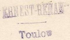 * ERNEST RENAN (1910/1936) * 140910