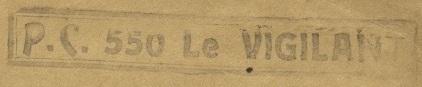 * LE VIGILANT (1944/1959) * 166_0010