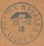 Bureau Embarqué du Croiseur Auxiliaire NUMIDIA - LIGNE A 602_0010