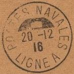 Bureau Embarqué du Croiseur Auxiliaire NUMIDIA - LIGNE A 602_0011