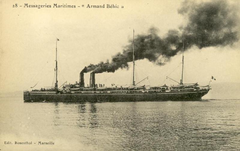 * ARMAND BEHIC (1915/1916) * 677_0010