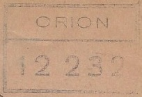 * ORION (1954/1970) * 681110