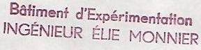 * INGÉNIEUR ÉLIE MONNIER (1947/1972) * 711210