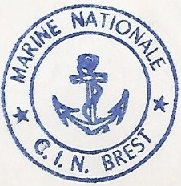 * BREST, Centre d'Instruction Navale  (C.I.N) * 7210_c10
