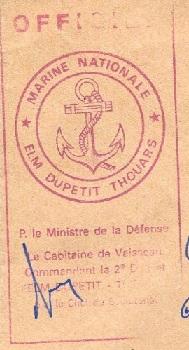 * DUPETIT-THOUARS (1956/1988) * 810910