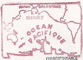 * ENSEIGNE DE VAISSEAU HENRY (1965/1994) * 860410