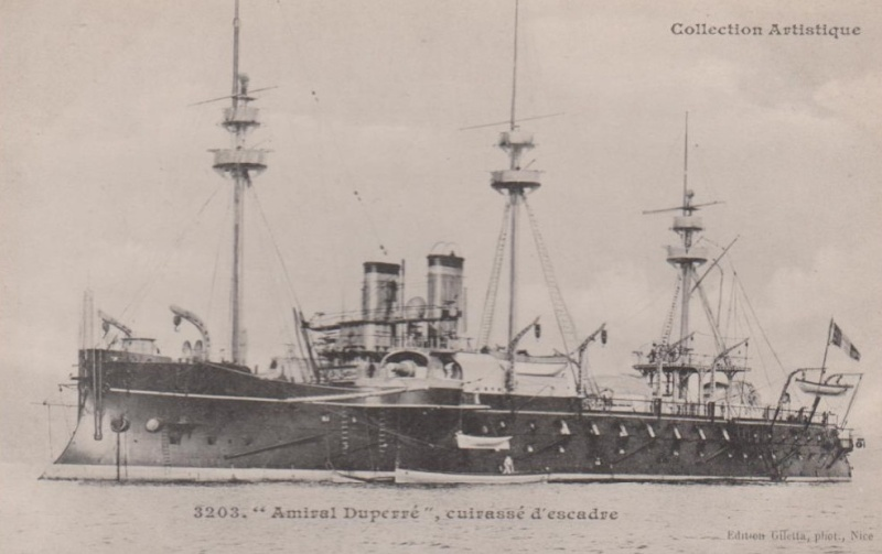 amiral - * AMIRAL DUPERRE (1883/1906) * 875_0010