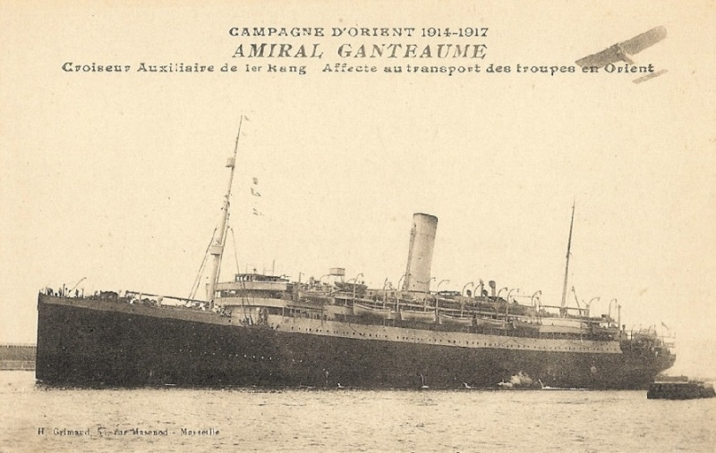 amiral - * AMIRAL GANTEAUME (1914/1918) * 909_0010