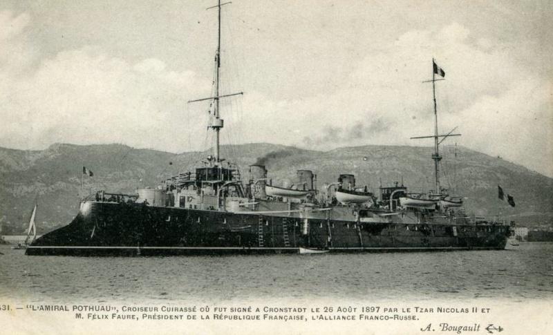 amiral - * AMIRAL POTHUAU (1897/1927) * 939_0010