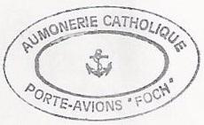 + AUMÔNERIE CHRETIENNE CATHOLIQUE DE LA MARINE + 950411