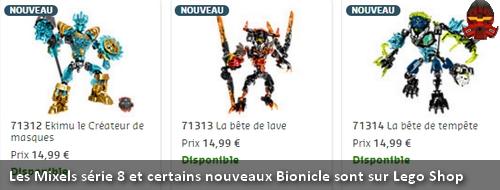 [Produit] Les Mixels série 8 et les Bionicle de la seconde vague sont disponibles sur Lego Shop Bannew10