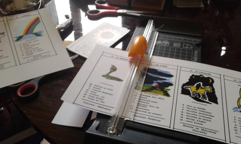 DIY : Imprimer et découper ses jeux de tarots 20160510