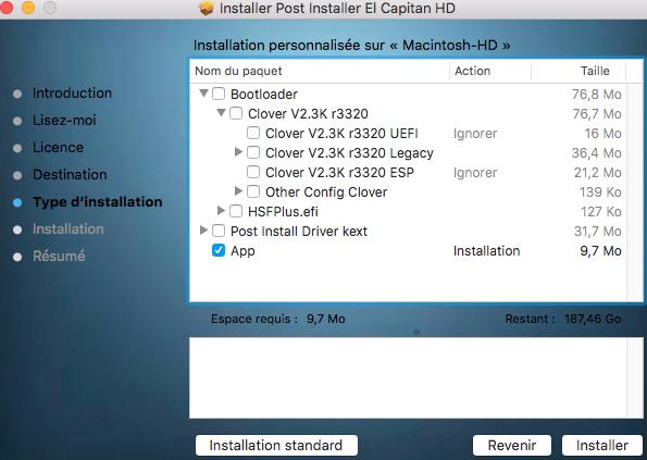 Installation sur Dell XPS 8900 0010