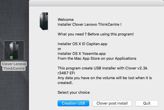 Clover Lenovo ThinkCentre 011