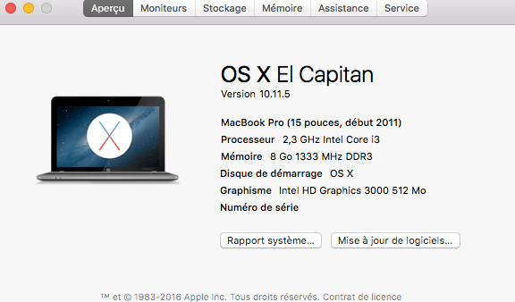 Mise a jour 10.11.5 Final Release! Mac12