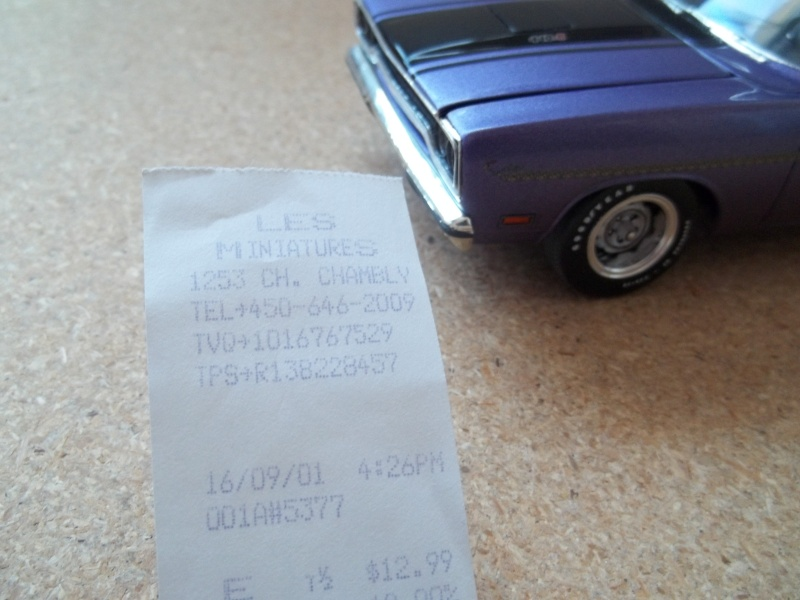 1970 Plymouth Road Runner de Monogram 01814