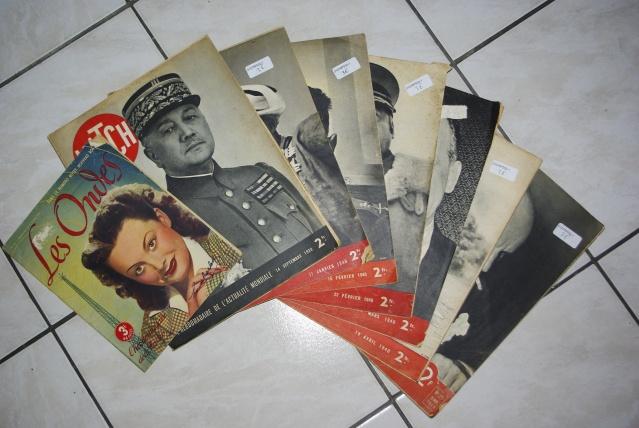 display sur les moyens d'informations de l'époque, journaux, radio, informations cinématographiques!! _igp1013