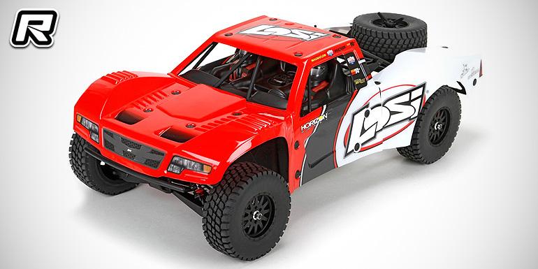 Losi baja rey 1/10 4wd rtr desert truck Loside11
