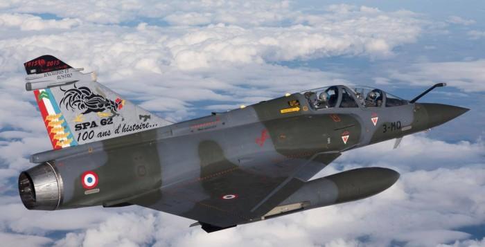 100 ans des escadrilles de l'armée de l'air Mirage10