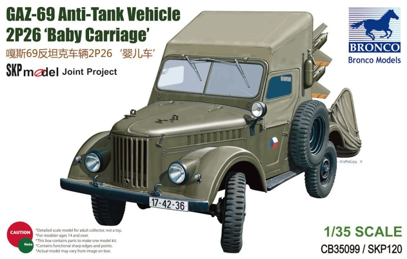 "GAZ-69 2P26 ""Baby carriage"" - Bronco 1/35 Bronco10"