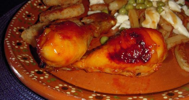Ailes de poulet au miel BBQ  Trop_b10