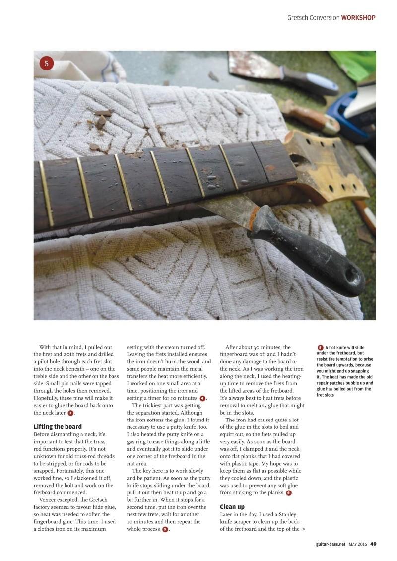 Gretsch Conversion tuto ! Guitar11