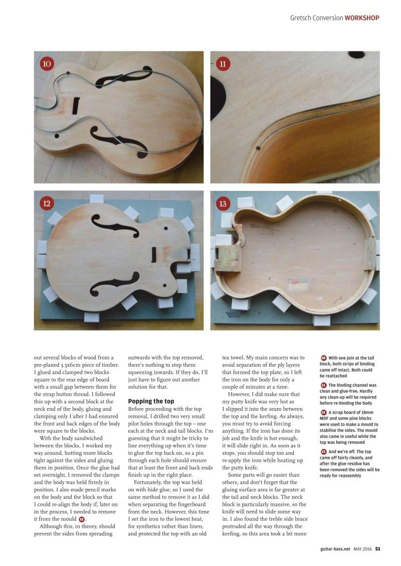 Gretsch Conversion tuto ! Guitar13