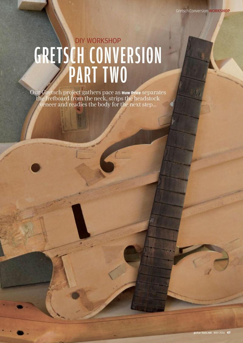 Gretsch Conversion tuto ! Guitar15
