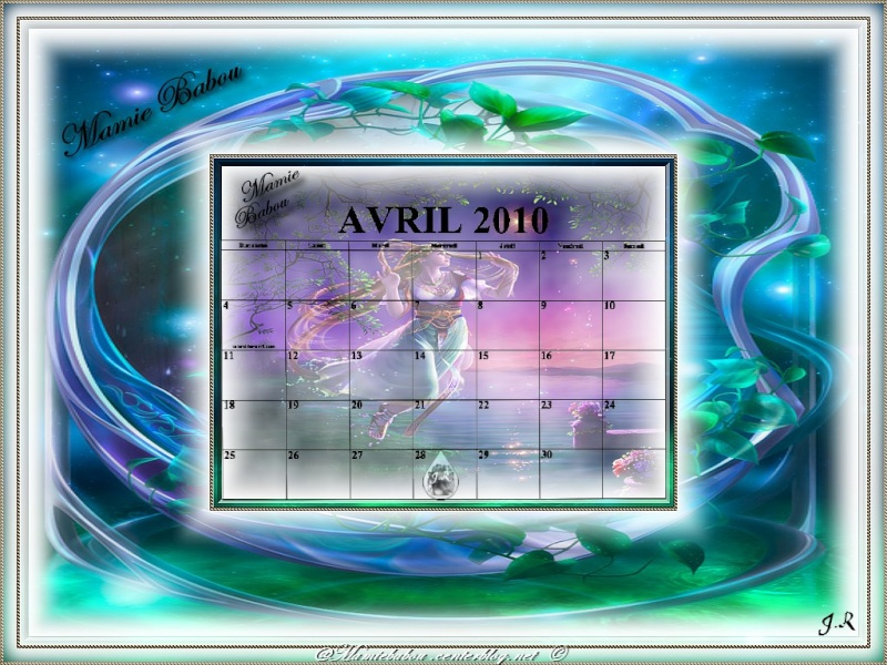 CALENDRIERS ORIGINAUX DES MOIS DE L ANNEE PAR ORDRE ALPHABETIQUE - Page 21 A_213