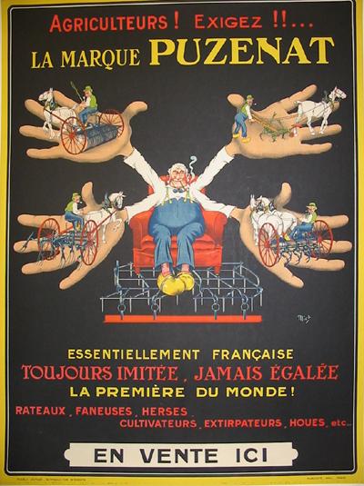 Les affiches du temps passé quand la pub s'appelait réclame .. - Page 23 Aff_010