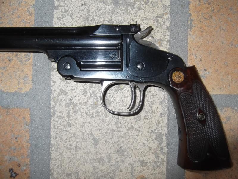 Mon smith et wesson 1891 single shot 22 lr Dscf4015