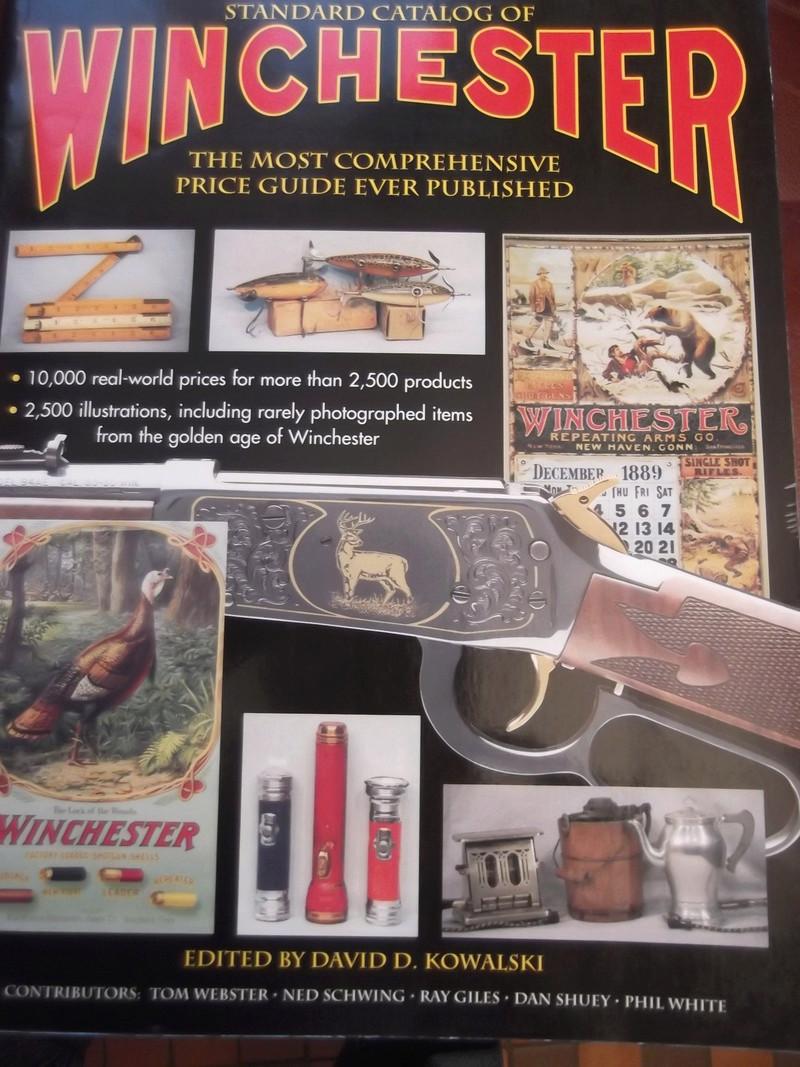 Livre sur les boites de munitions WINCHESTER Dscf4115