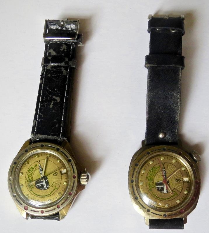 Militaria Soviétique ou pas ? montres soviétiques Vostok Montre11