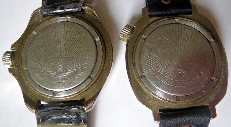 Militaria Soviétique ou pas ? montres soviétiques Vostok Montre12