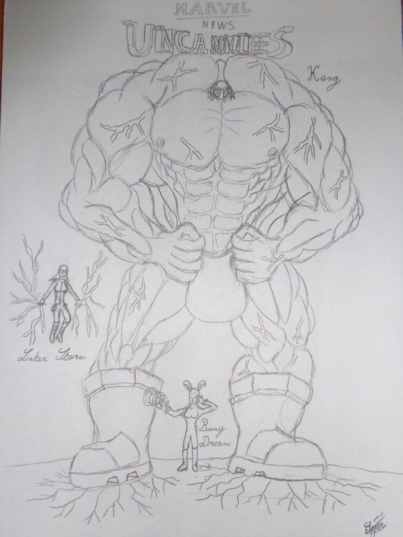 dessins personnages Uncann10