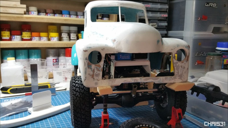 Chris Customs. Chevy Truck 1950 - Page 4 20160511