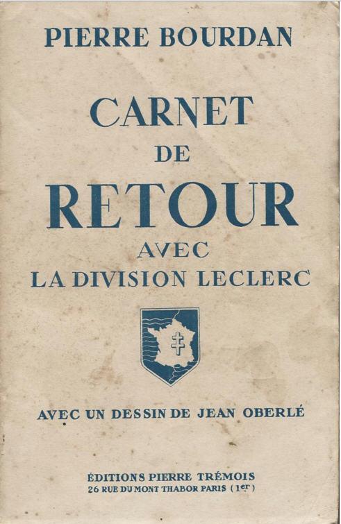 Pierre Bourdan Carnet de route avec la division LECLERC Bourda10