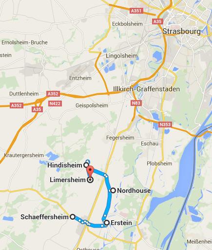 erstein - Erstein Bas-Rhin  (+ Borne 1078 ) Limers10