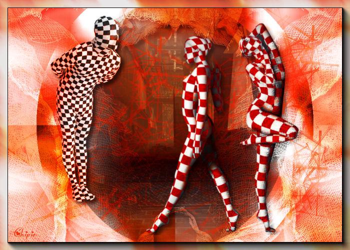 Cybernétique avril : le rouge et le blanc ! quadrille heureux  Carr10