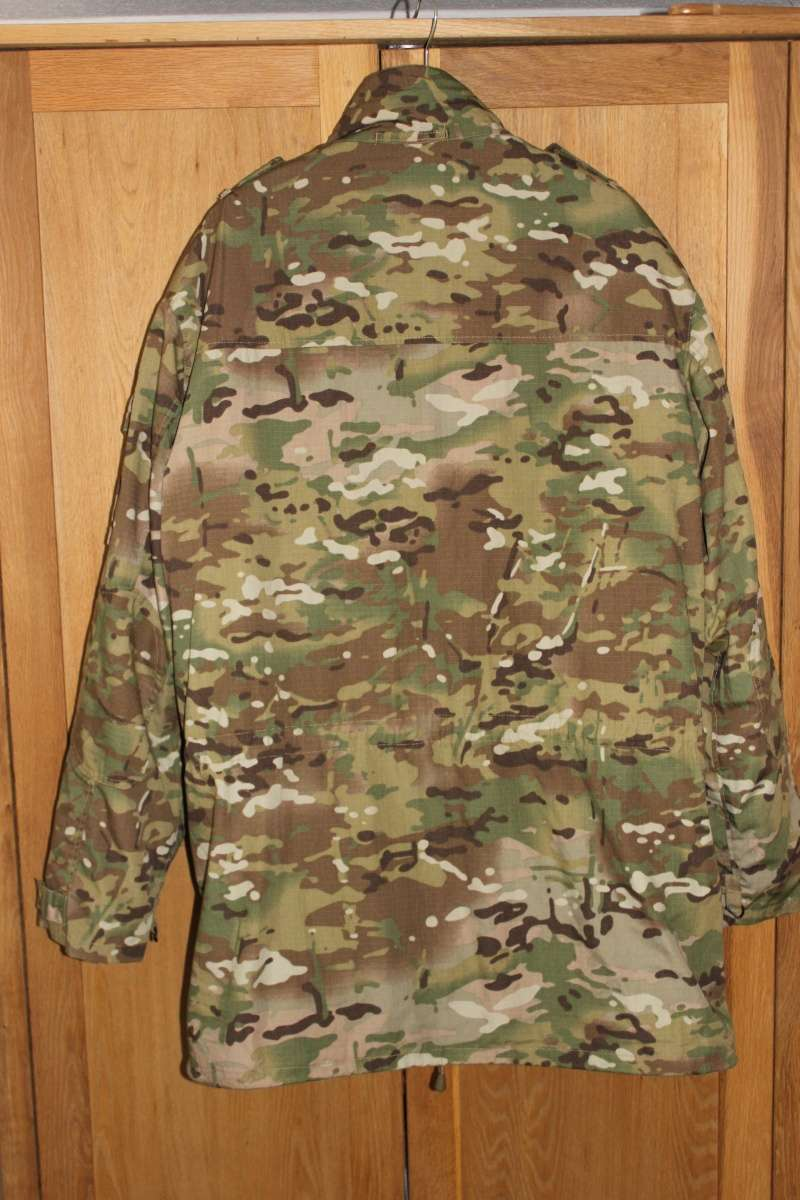 Dutch Multicam Ripstop Parka with Liner and Gore-Tex Laminate Img_4519